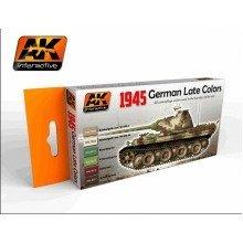 Ak00554 - Ak Interactive Set German Late War Colors