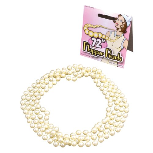20's Flapper Pearl Necklace