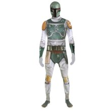 Star Wars Boba Fett Adult Unisex Zapper Cosplay Costume Digital Morphsuit - Medium - Multi-Colour (MLZBFM-M)