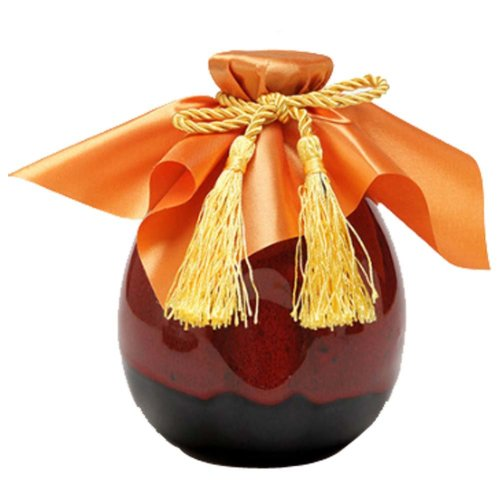 [A] Ceramic Empty Wine Bottle Creative Wine Jar Chinese Style Small Flagon