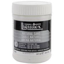Liquitex Natural Sand Acrylic Texture Gel-8oz