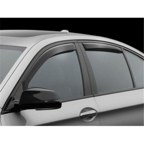 Weathertech W24-82540 Window Deflector for 2011-2016 BMW 528i, Dark Tint