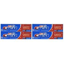 Crest Kids Crest, Fluoride Anticavity Toothpaste, Sparkle Fun Flavor, 4.6 Ounce Tubes (Pack of 4)