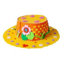 DIY Homemade Hat Creative Diy Toy Performance Props Yellow