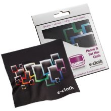 e-Cloth Phone & Sat Nav Screen Cleaning Cloth - Removes Finger Marks & Bacteria
