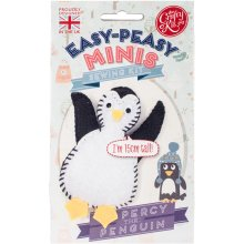The Crafty Kit Co. Easy-Peasy Mini Sewing Kit-Percy The Penguin