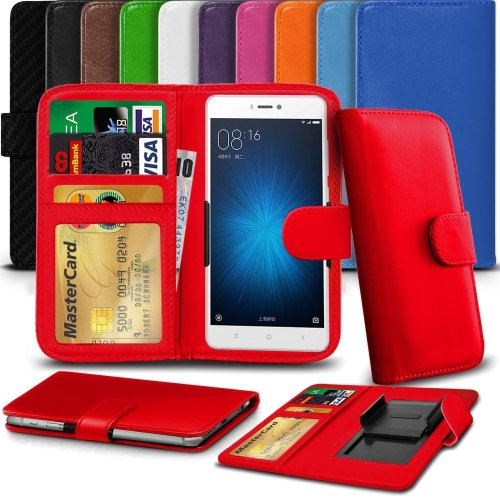 """iTronixs - Huawei P10 Lite (5.2"""") High Quality Clamp Style PU Leather Wallet Case Cover"""