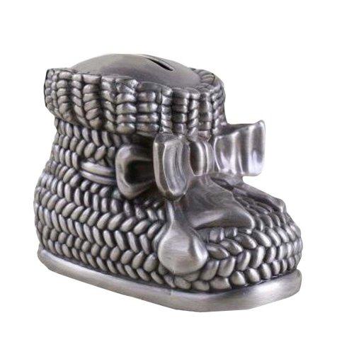 Unique Shoe Shape Metal Money Saving Pot Coin Collector
