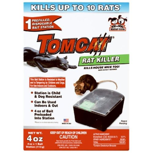 Tomcat 22580 Sealed Rat Killer Station