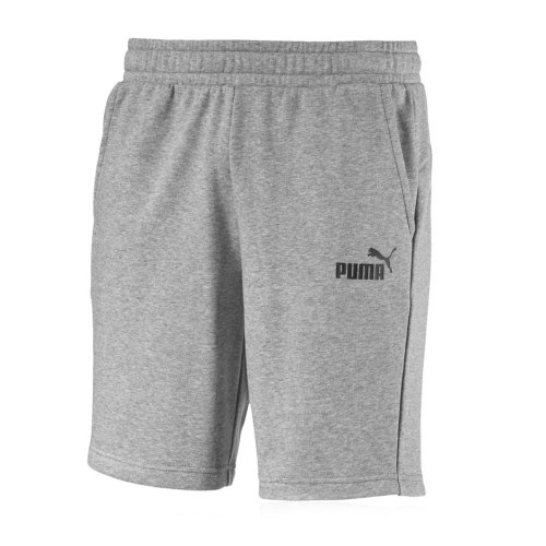 Puma Essentials Mens 10'' Jersey Training Sweat Fashion Short Grey