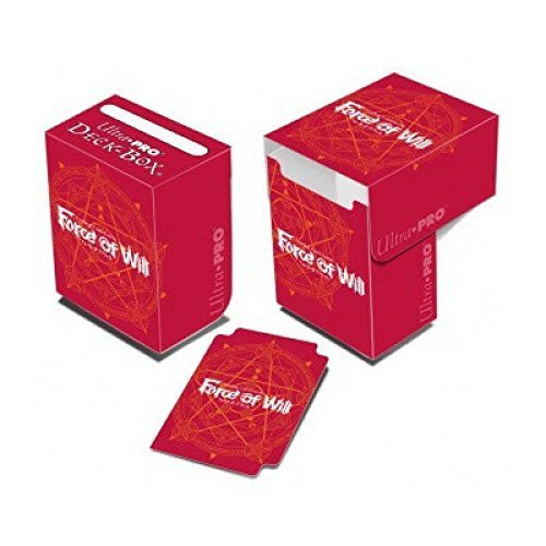 Official Force of Will Red Magic Circle Deck Box