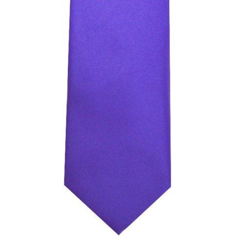 Iris Slim Satin Tie #C1887/3