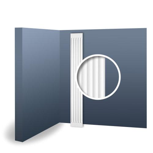Orac Decor K250 LUXXUS Pilaster Shaft Stucco Decoration element   2 m