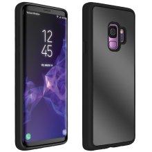 Samsung Galaxy S9 Mirror shockproof TPU case bumper silicone case - Black