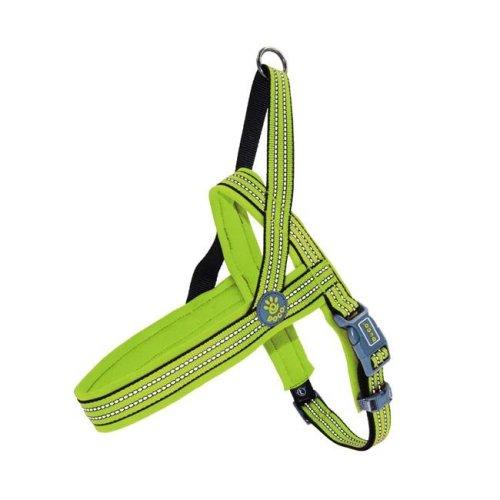 Doco DCV201-07XS-S O-Ring Vario Neoprene Dog Leash Harness, Light Green - Extra Small & Small