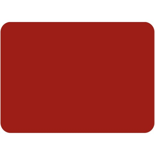 Tuftop Large Textured Worktop Saver, Red 50 x 40cm