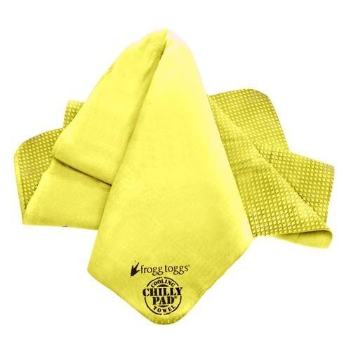 Frogg Toggs Cp100 Chilly Pad Cooling Towel 33 Length X 13 Width Yellow