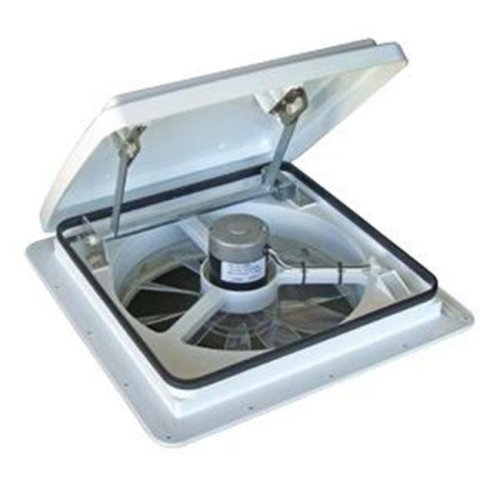MAXXAIR VENT 0004000K Roof Vent Manual Opening White