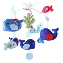 DIY Baby Crib Mobiles Hanging Mobile Toy, Need Sewing