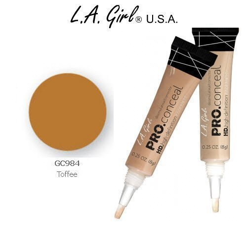 L.A. Girl Pro Conceal HD 984 Toffee (2 Pack)