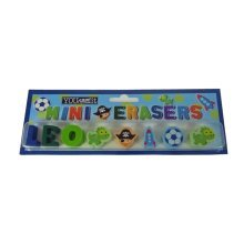 Childrens Mini Erasers - Leo