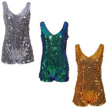 Sequin Glitter One Piece Playsuit