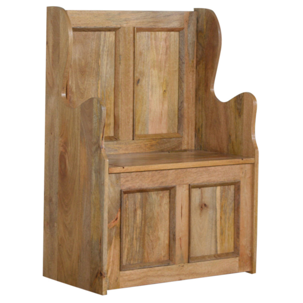 Magnificent Small Wood Storage Hallway Monks Bench Dailytribune Chair Design For Home Dailytribuneorg