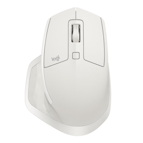 Logitech MX Master 2S RF Wireless+Bluetooth Laser 4000DPI Right-hand Grey,White mice