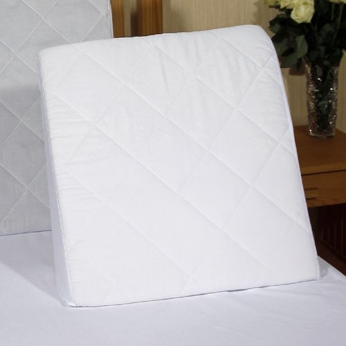 Bed Wedge with Washable, Quilted Poly Cotton Cover