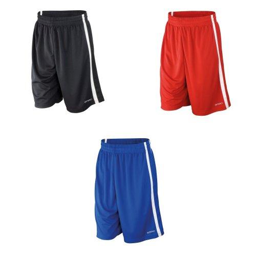Spiro Mens Quick Dry Basketball Shorts