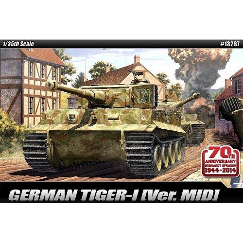 Aca13287 - Academy 1:35 - Tiger 1 Mid '70th Anniversary 1940'