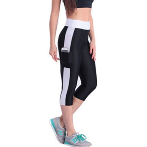 Women Exercise Tight Body  Legging with pockets