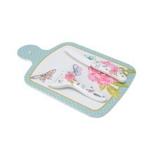 Multipurpose Health Cutting Board Flexible Chopping Board Set Dancing Butterfly