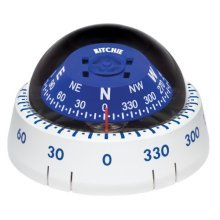 Ritchie XP-99W Kayaker Compass - Surface Mount - White (36542)