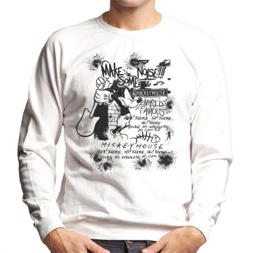 Disney Mickey Mouse Band Make Some Noise Men's Sweatshirt