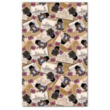 Official Paddington Bear London Scrapbook Tea Towel Souvenir Gift Licenced