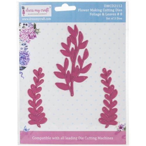 Dress My Craft Dies-Flower Making-Foliage & Leaves #8