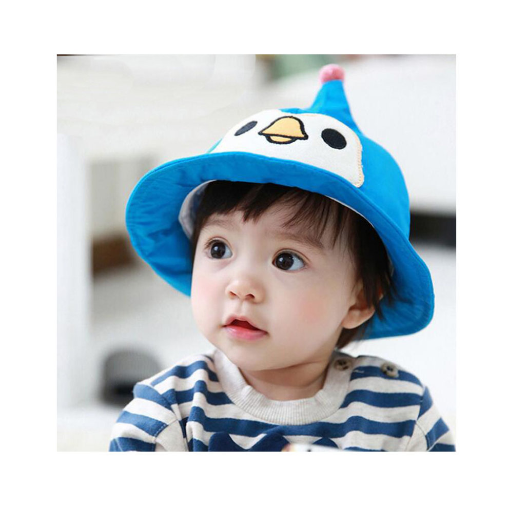 20c1ffd9b3b34 ... Baby Sun Protection Hat Infant Floppy Sunscreen Cap Cotton Sun Hat 1-2 Years  Old.