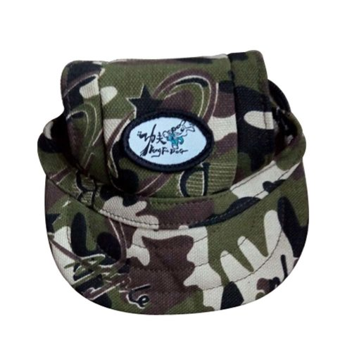 Camouflage Peaked Caps Fashion Pets Hats for Dogs or Cats, Small