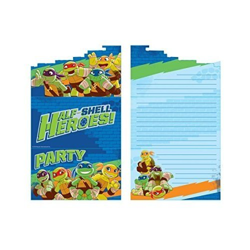 Half Shell Heroes Stand Up Invitations & Envelopes