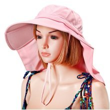 Summer Women Sunscreen Foldable Anti-UV Bucket Hat Outdoor Sports Casual Cycling Cap