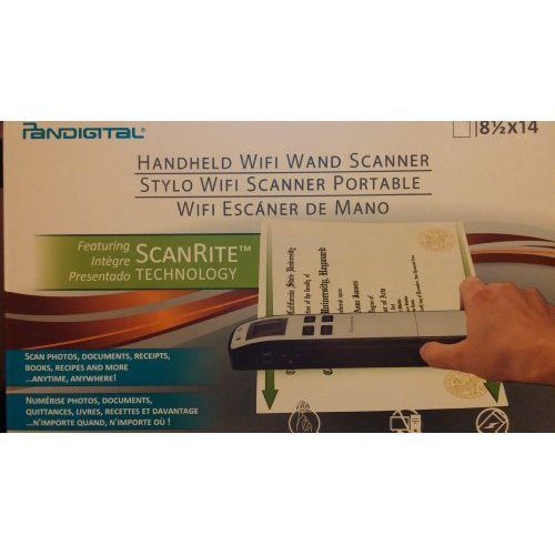 Pandigital Wifi Wand Scanner