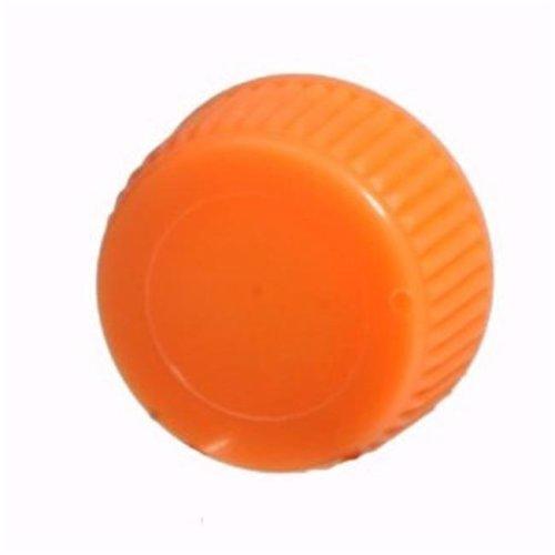 Screw Cap For  Screw Cap Microcentriufge Tubes - 1000 pk - Orange