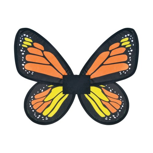 Children's Monarch Butterfly Wings -  butterfly monarch fancy dress childs wings size accessory kids party prop BUTTERFLY FANCY DRESS WINGS COSTUME