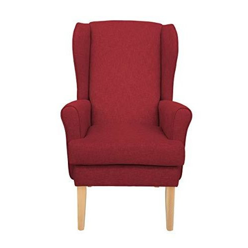MAWCARE Highland Orthopaedic High Seat Chair - 19 x 21 Inches [Height x Width] in High Red (lc21-Highland_h)