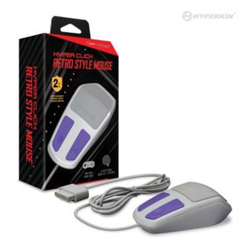Hyperkin M07208 Hyper Click Retro Style Mouse for SNES