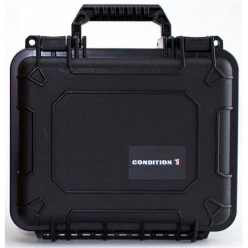 Royal Case H624BKF10176AC1 Condition 1 Hard Airtight & Watertight Plastic Protective Case No. 624, Black
