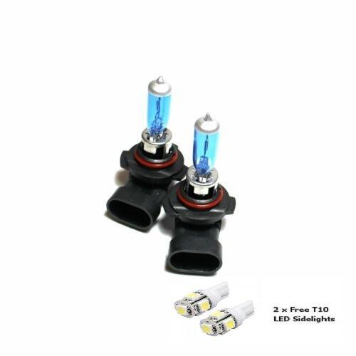 H10 42w Super White Xenon HID Front Fog Light Bulbs Pair Opel Corsa