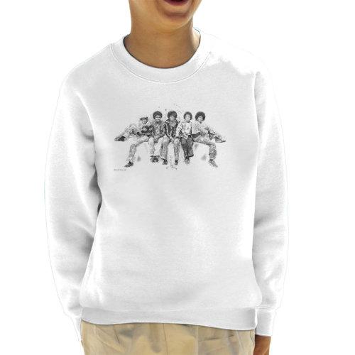 Jackson 5 At Hyde Park Corner 1977 Kid's Sweatshirt