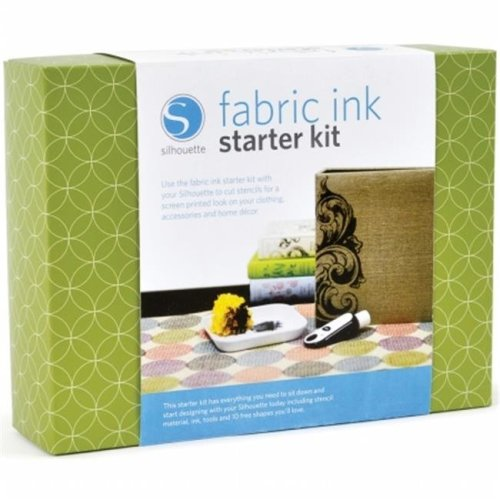 Silhouette Fabric Ink Starter Kit-